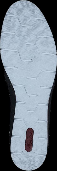 Kjøp Rieker M1384-14 Pazifik Blå Sko Online
