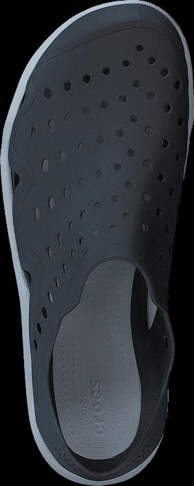 Kjøp Crocs Swiftwater Wave M Black/pearl White Blå Sko Online