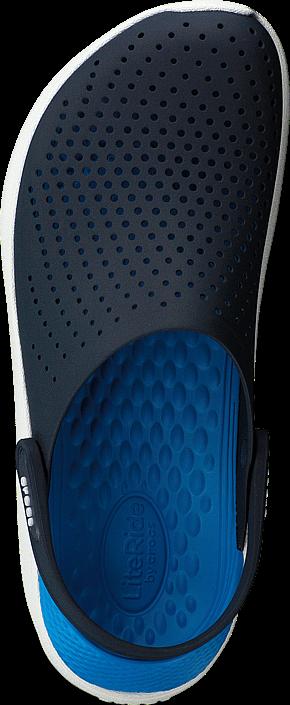 Kjøp Crocs Literide Clog Navy/white Blå Sko Online