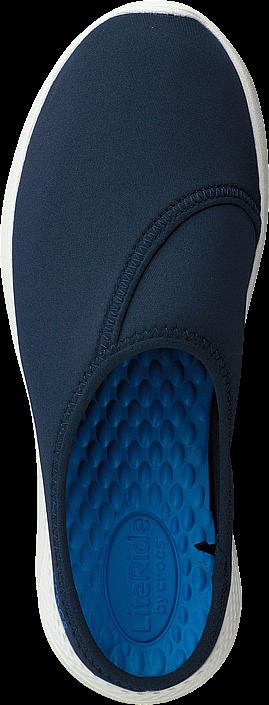 Kjøp Crocs Literide Mule W Navy/white Blå Sko Online