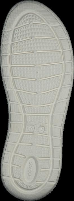 Kjøp Crocs Literide Sandal W Light Grey/white Grå Sko Online
