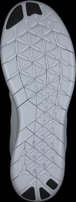 Kjøp Nike Nike Free Rn 2017 White/white-black-platinum Hvite Sko Online