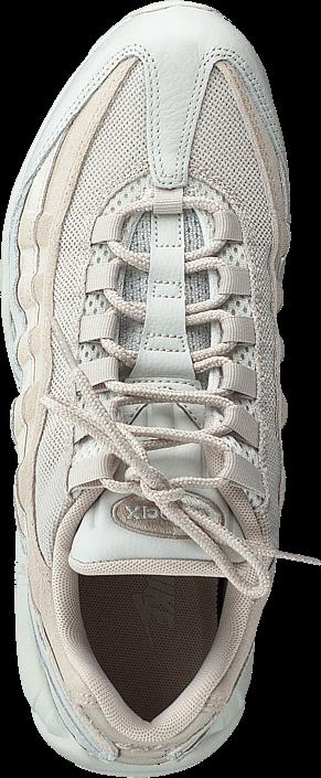 Kjøp Nike Nike Air Max 95 Premium Light Bone/light Bone-string Hvite Sko Online