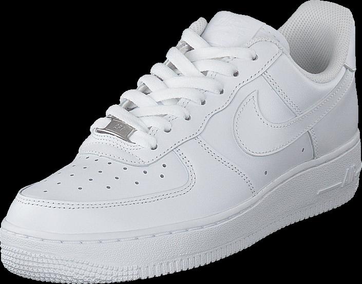 Kjøp Nike Wmns Air Force 1 07 White/white Hvite Sko Online