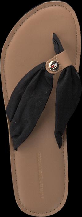 Kjøp Tommy Hilfiger Monica 34 Black Beige Sko Online