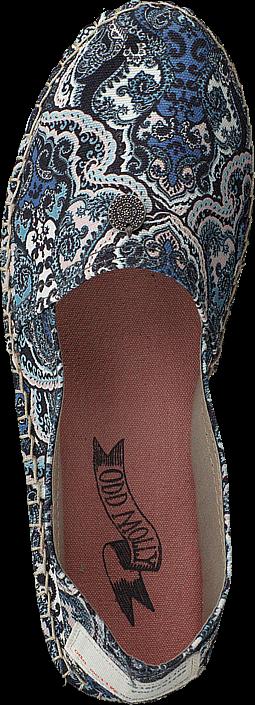 Kjøp Odd Molly Oddspadrillos Print Blue Beige Sko Online