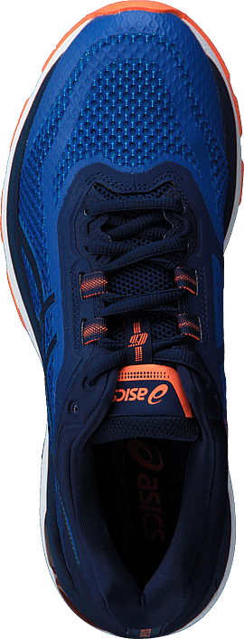 Kjøp Asics Gt-2000 6 Imperial/indigo Blue/orange Blå Sko Online