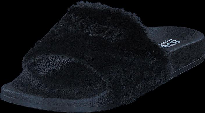 Kjøp Svea Alex Fur Slipper Black Blå Sko Online