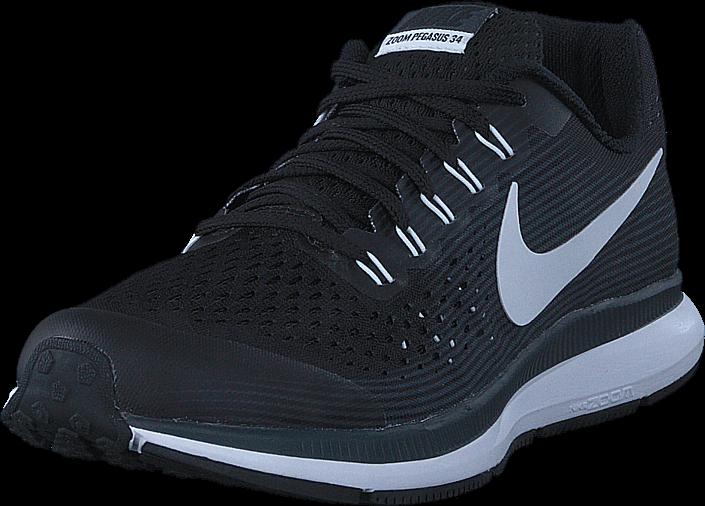 b95e59f6 Kjøp Nike Nike Zoom Pegasus 34 Gs Black/whitedk Greyanthracite Blå ...