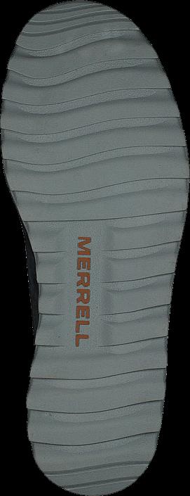 Kjøp Merrell Downtown Sunsill Lace Slate Blå Sko Online