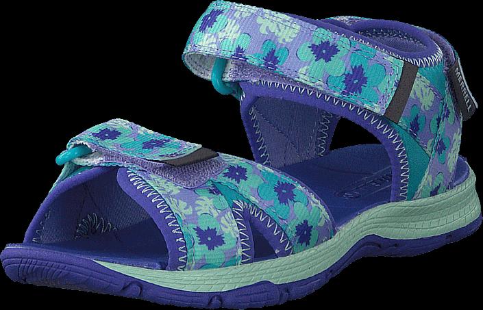 Kjøp Merrell Surf Strap 2.0 Turquise/purpel Blå Sko Online