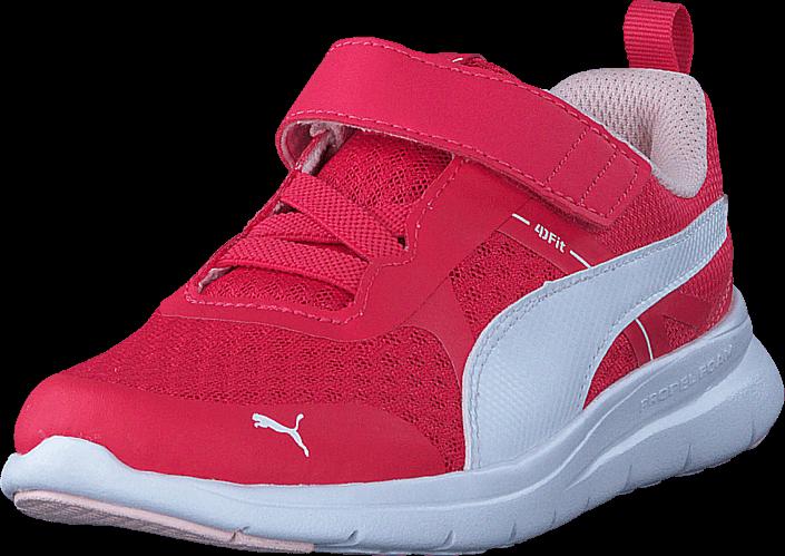 5ab3a2d428d Kjøp Puma Puma Flex Essential V Ps Paradise Pink-puma White Røde Sko Online