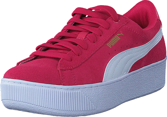 Kjøp Puma Puma Vikky Platform Jr Paradise Pink-puma White Rosa Sko Online