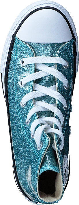 Kjøp Converse Chuck Taylor All Star Bleached Aqua/natural/white Turkis Sko Online