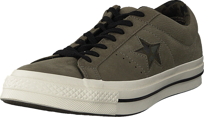 Kjøp Converse One Star Dark Stucco/egret/herbal Grå Sko Online