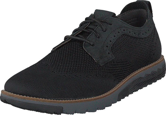 Kjøp Hush Puppies Expert Wt Oxford Black Svarte Sko Online