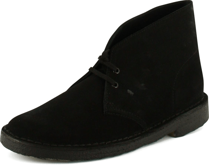 Clarks - Desert Boot Black Suede