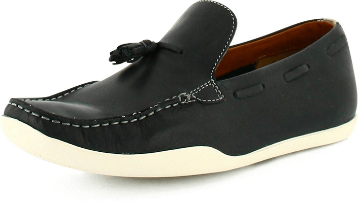 Clarks - Mallee Drive Navy Leather