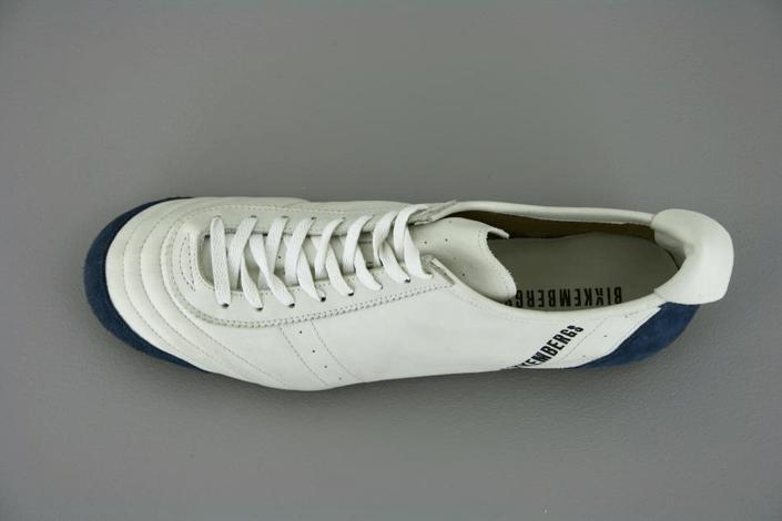 Bikkembergs - Soccer White/Blue Suede