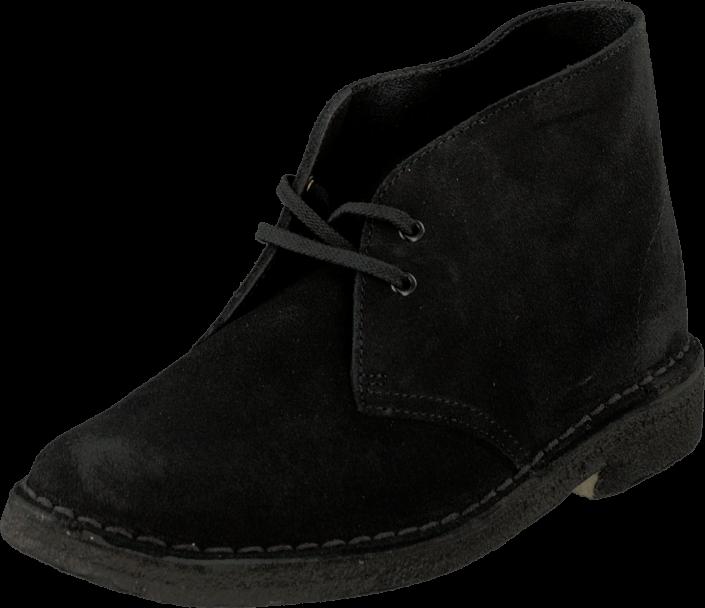 Clarks Desert Boot w Black