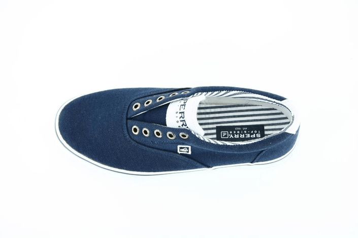 Sperry Topsider - Striper Laceless/Navy