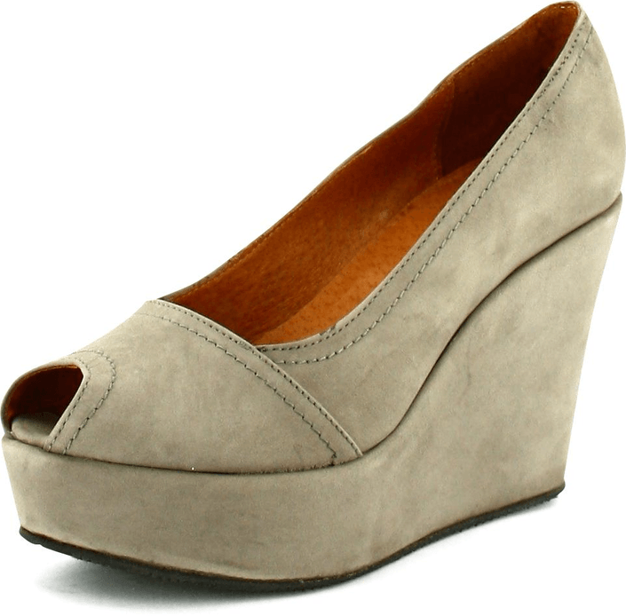 Shoe Biz - Nubuck Taupe