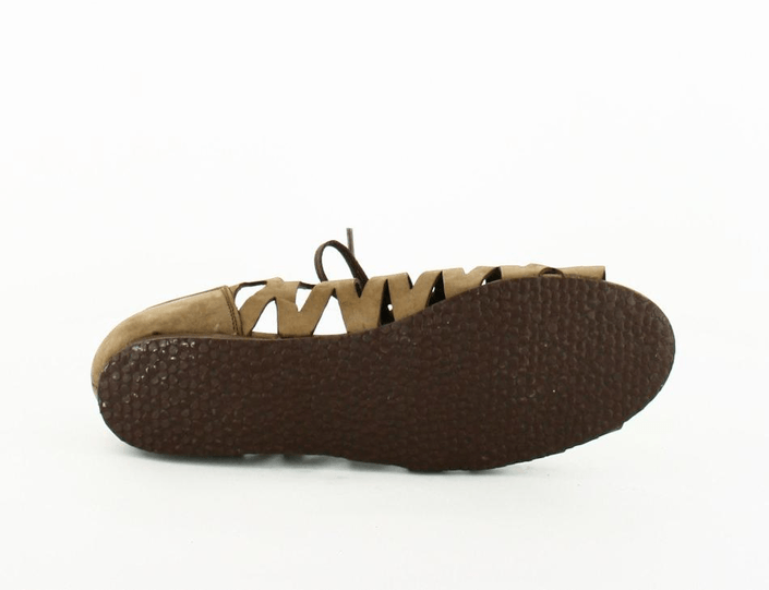 Shoe Biz - Nubuck Sandal rem Brown