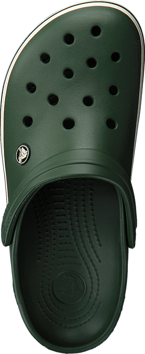 Crocs Crocband Forest Green/Stucco
