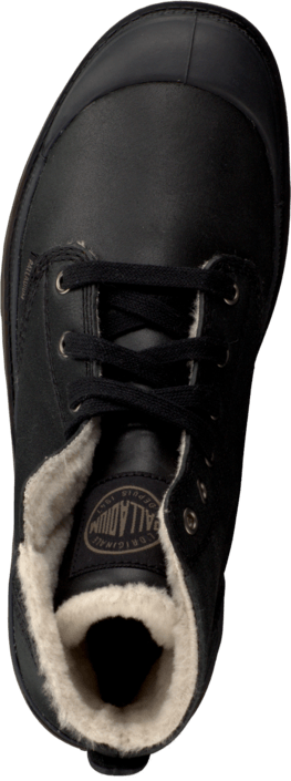 Palladium - Pampa Hi Men Black Pilot Leather S.