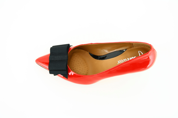 Clarks - Balti Zing Red Patent