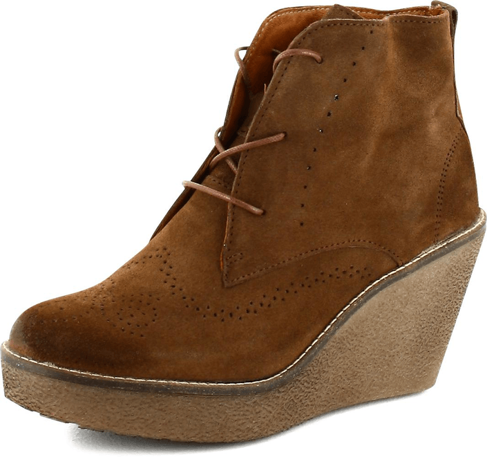 Marc O'Polo - Short Boot Brown Suede