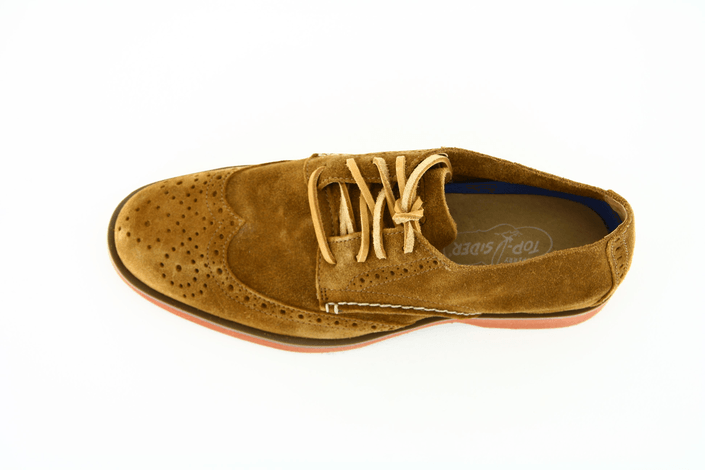 Sperry Topsider - Boat Oxford WingTip Tan Suede