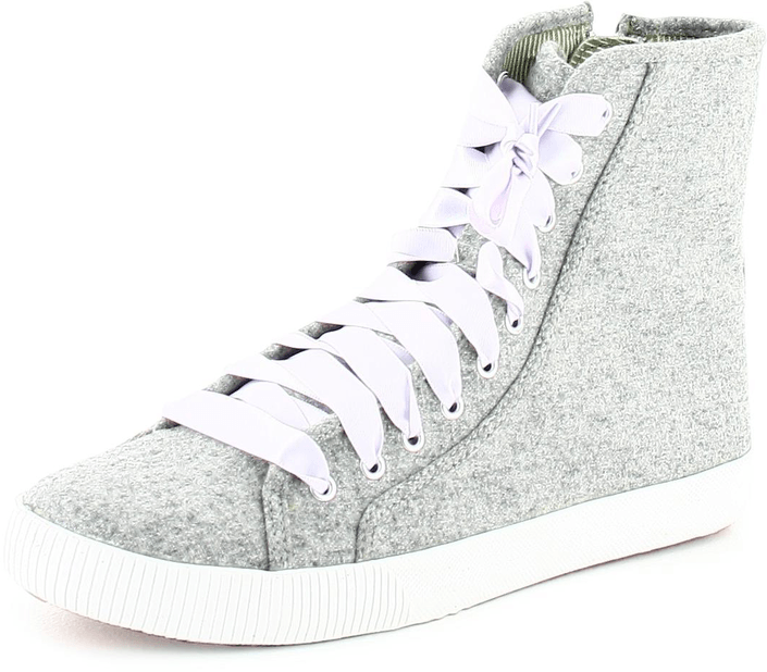 Keds - Champion Wooly Celebrity Hi Gray