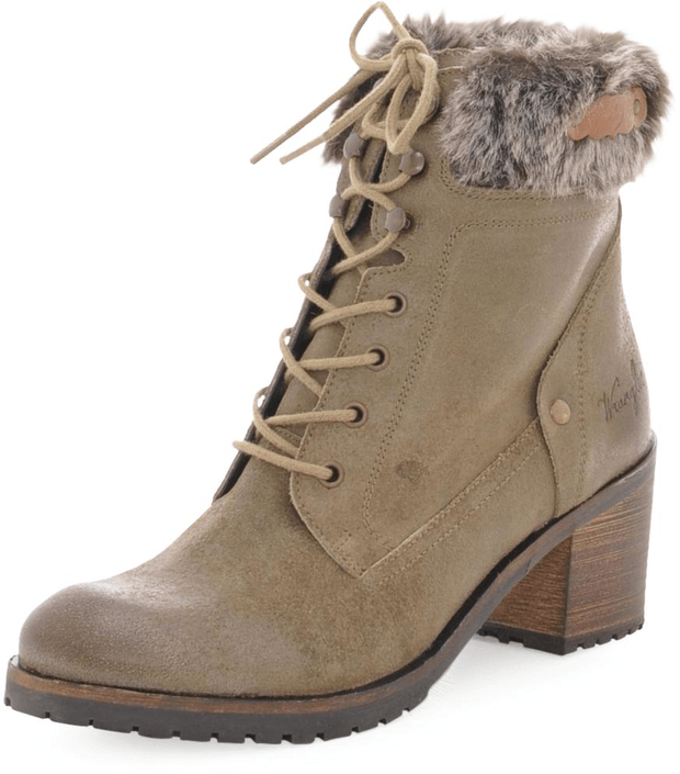 Wrangler - Rusty Boot Truffle Oiled Suede