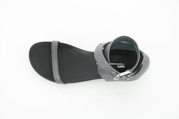 Hope - South Sandal Dark Grey