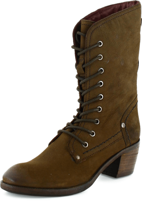 Park West - Leather Boot  67 Dark Brown