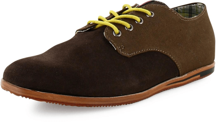 Ben Sherman - Mayfair Canvas/Suede/Brown