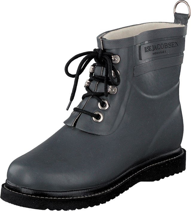 Ilse Jacobsen - Short Rubberboot Grey