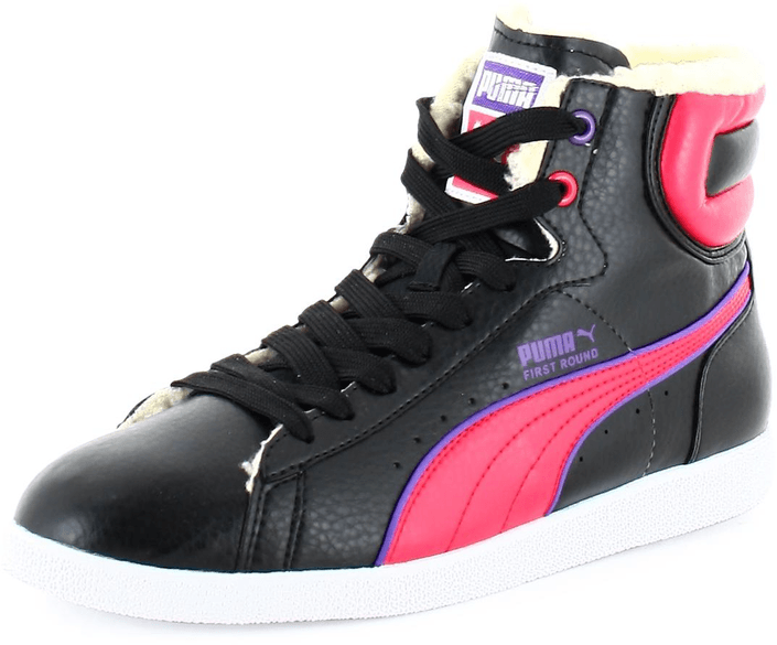 Puma - First Round Jr Fur Black