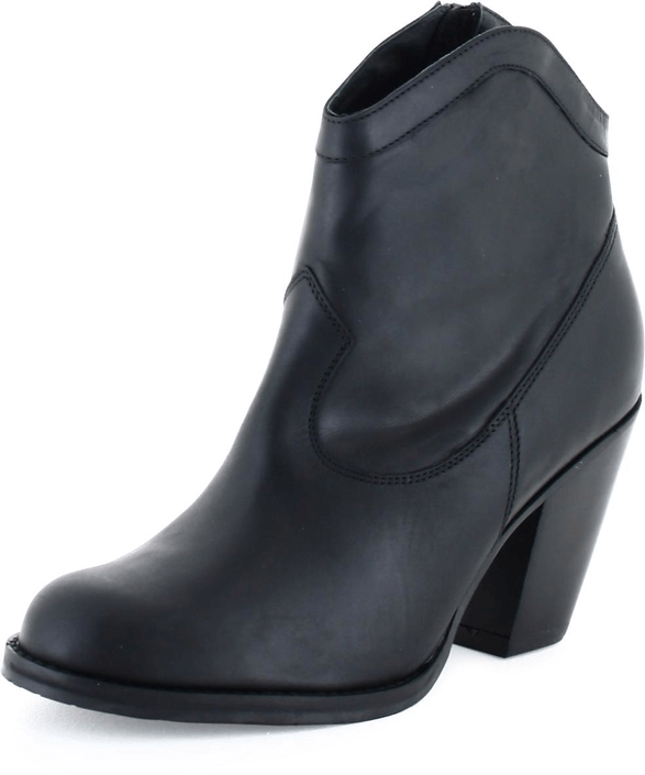 Gardenia - Short Boot 2962 Crazy Horse Black