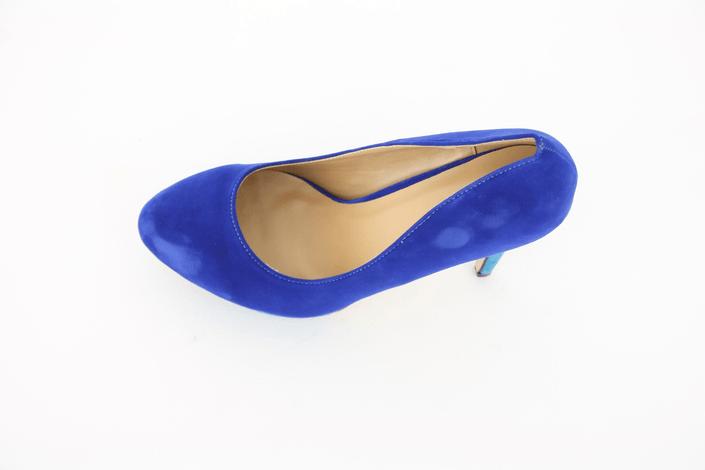 Sugarfree Shoes Lesley Blue