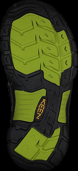 Keen - Newport H2 Kids Black/Lime green