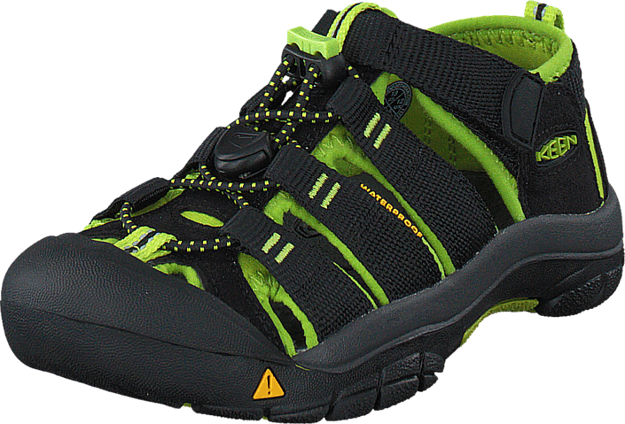 Keen - Newport H2 Kids Black/Lime green