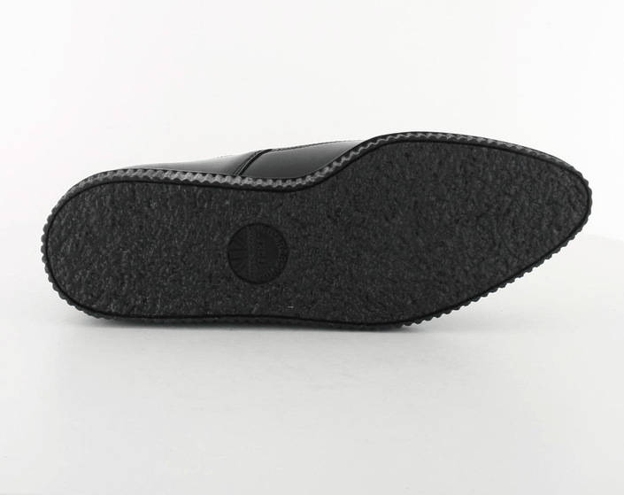 Underground Barfly Black Leather