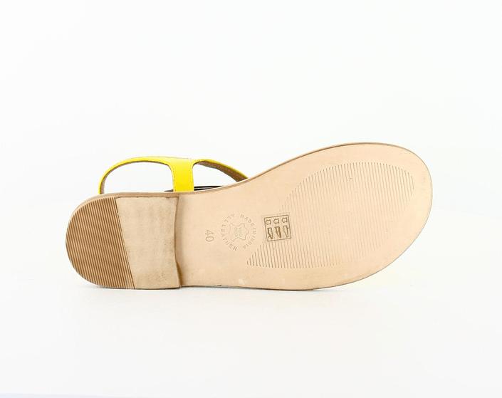 Black Lily - lollywood sandal yellow