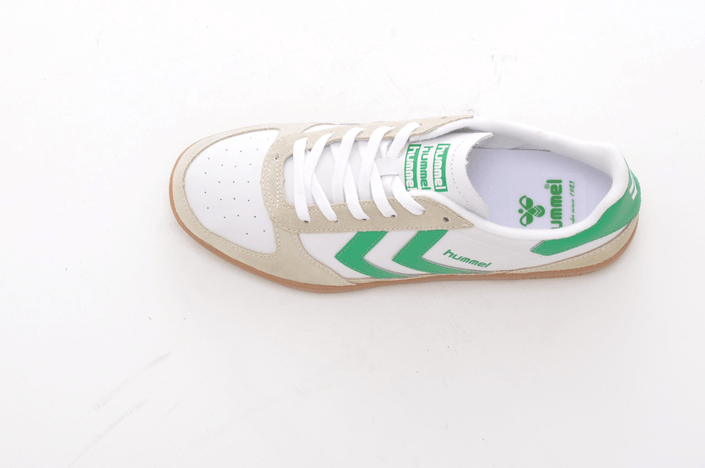 Hummel - Victory Retro LS White/ Fern Green