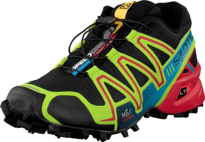 Salomon - Speedcross 3 Black/Granny Green/Rd