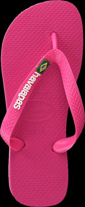 Havaianas - Kids Brasil Logo Orchid Rose