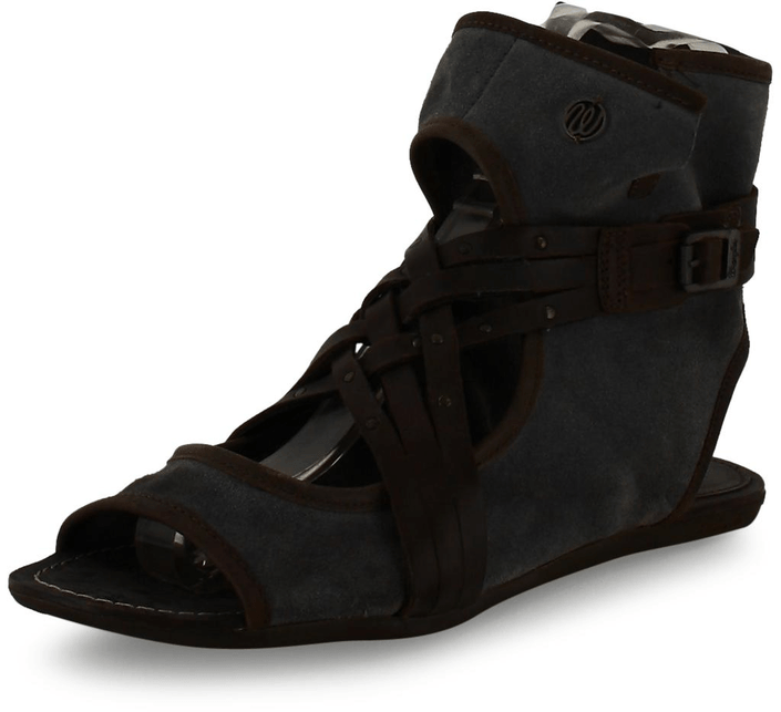 Wrangler - Cher Plainting Dark Brown Leather