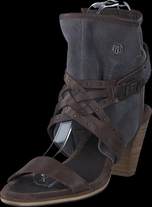 wrangler-cher-strips-mid-dark-brown-leather-kengaet-korkokengaet-sandaletit-ruskea-harmaa-naiset-36